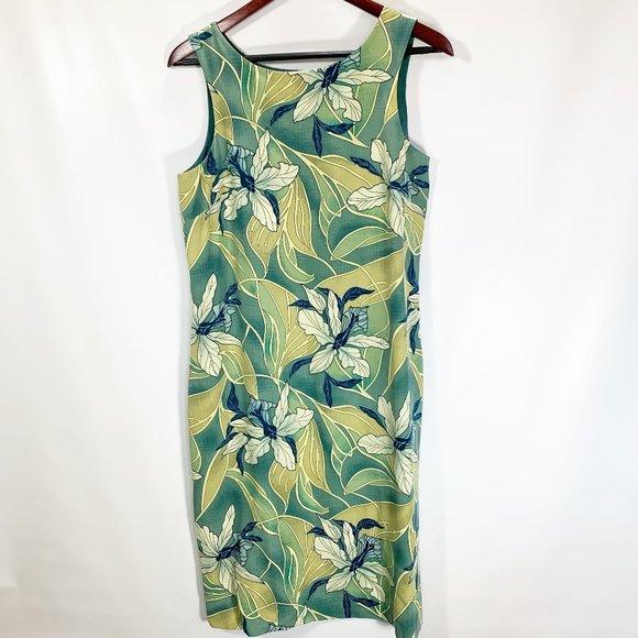 NEW Tommy Bahama Womens 8 Dress Silk Tropical